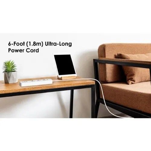 Oraimo Smart Extension Socket 3 Ports And 3 Usb Ows-u331   Konga Online Shopping