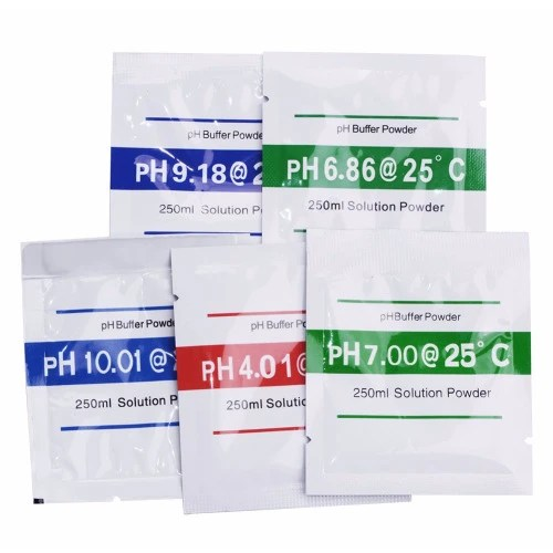 Ph Meter Buffer Solution Powder Set For Quick And Easy Ph Calibration