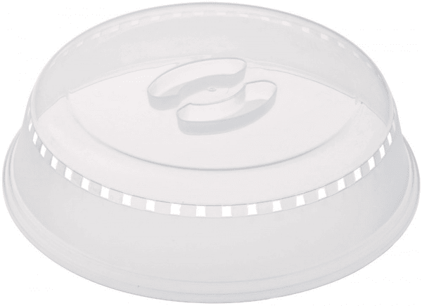 plastic microwave cover white