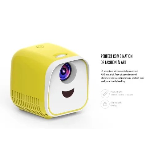 L1 Lcd Projector 1000 Lumens Children Gift Theater Projector