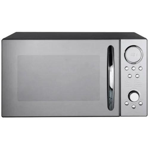 countertop microwave oven 23l black