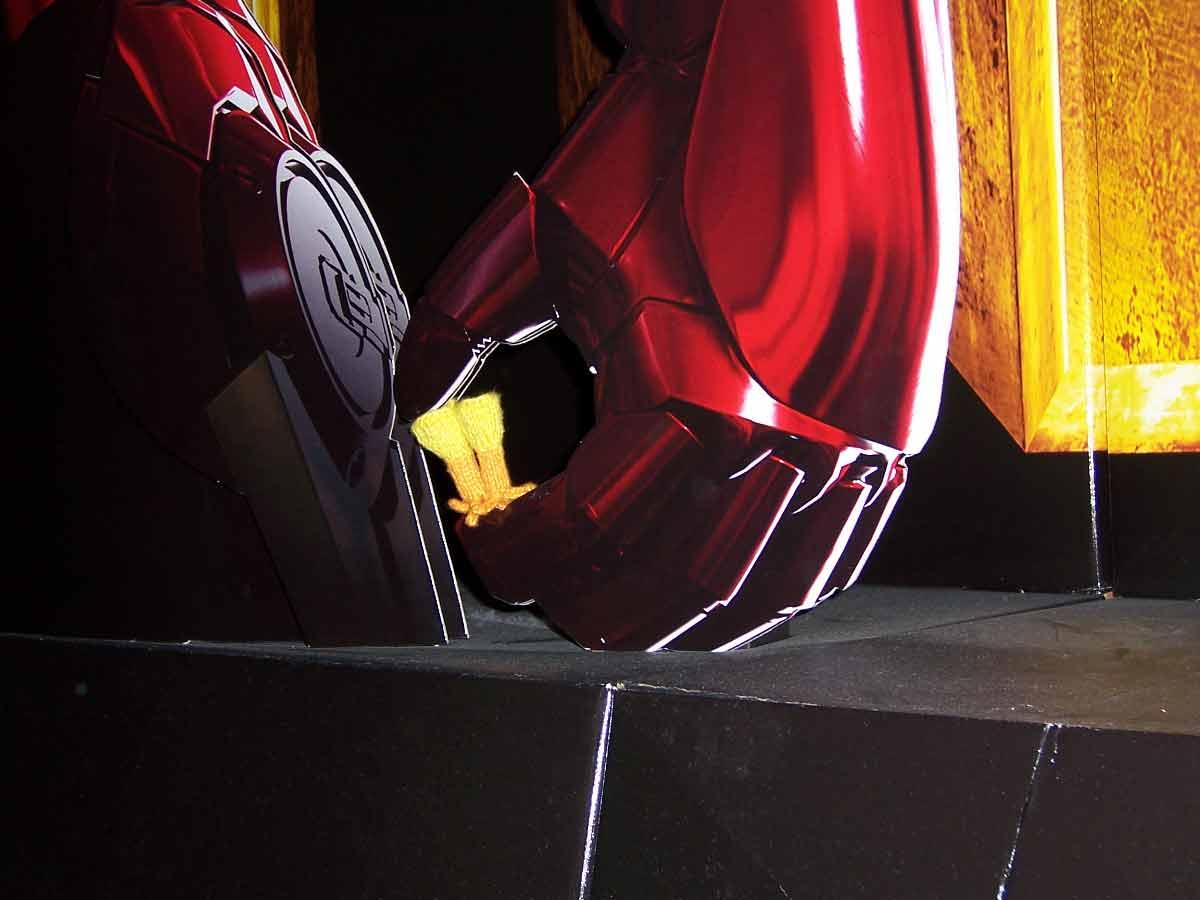 Iron Man Hand closeup