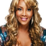 AF-S2-624747 Curly Long Wigs Women's Side-Swept Heat-resistant Fiber Toulsed Gold Hair Wigs
