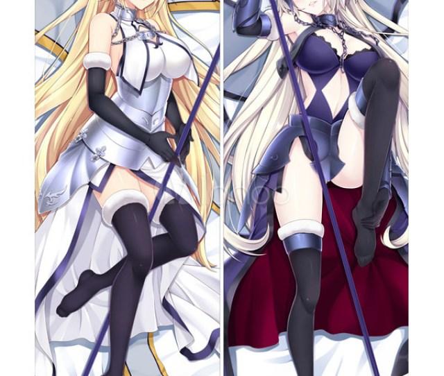 Fate Grand Order Jeanne Darc Anime Girl Sexy Velvet Pillowcase Halloween No