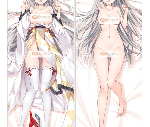 Azur Lane Akashi Kawaii Naked Anime Girl Pillowcase No 1