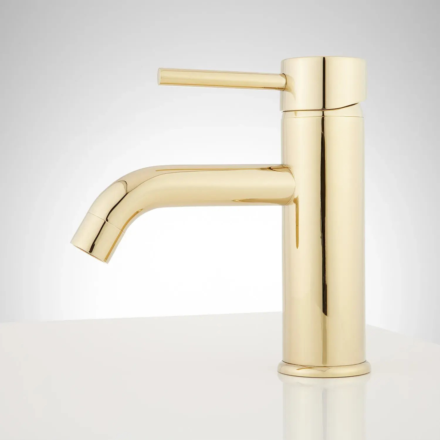 hewitt single hole bathroom faucet with pop up drain