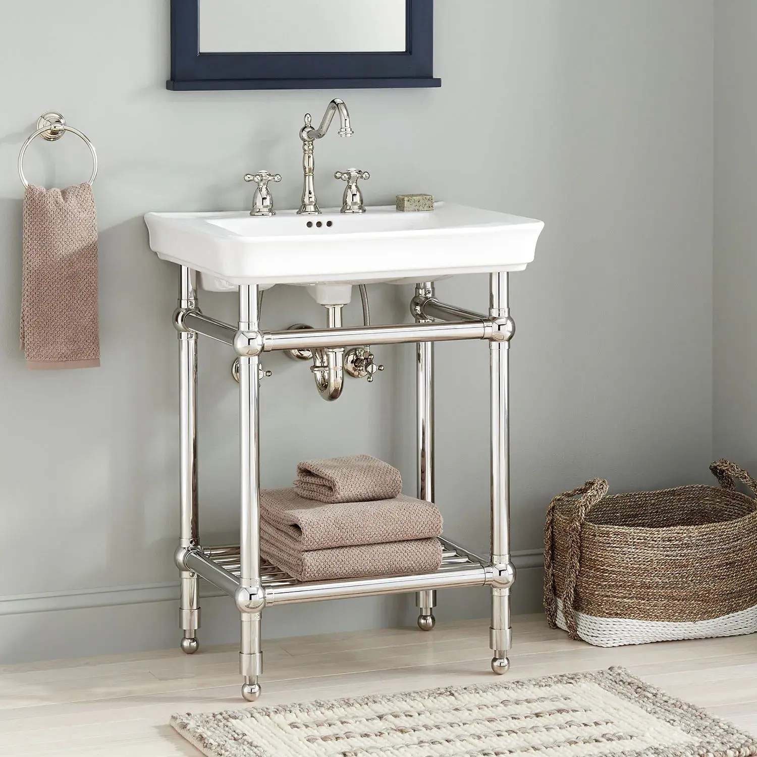26 eastcott console sink with traditional top