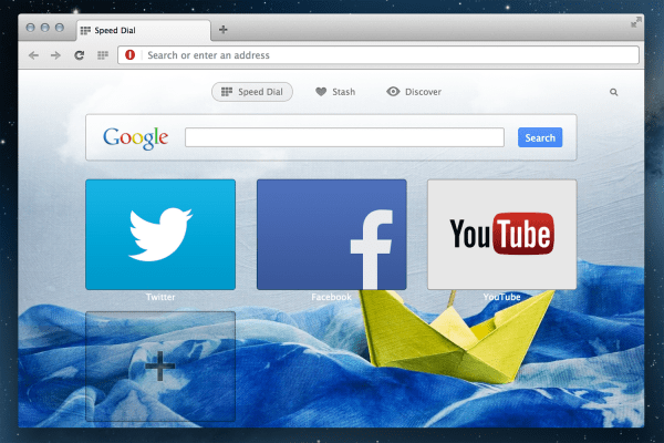 Download Opera 18 for desktop