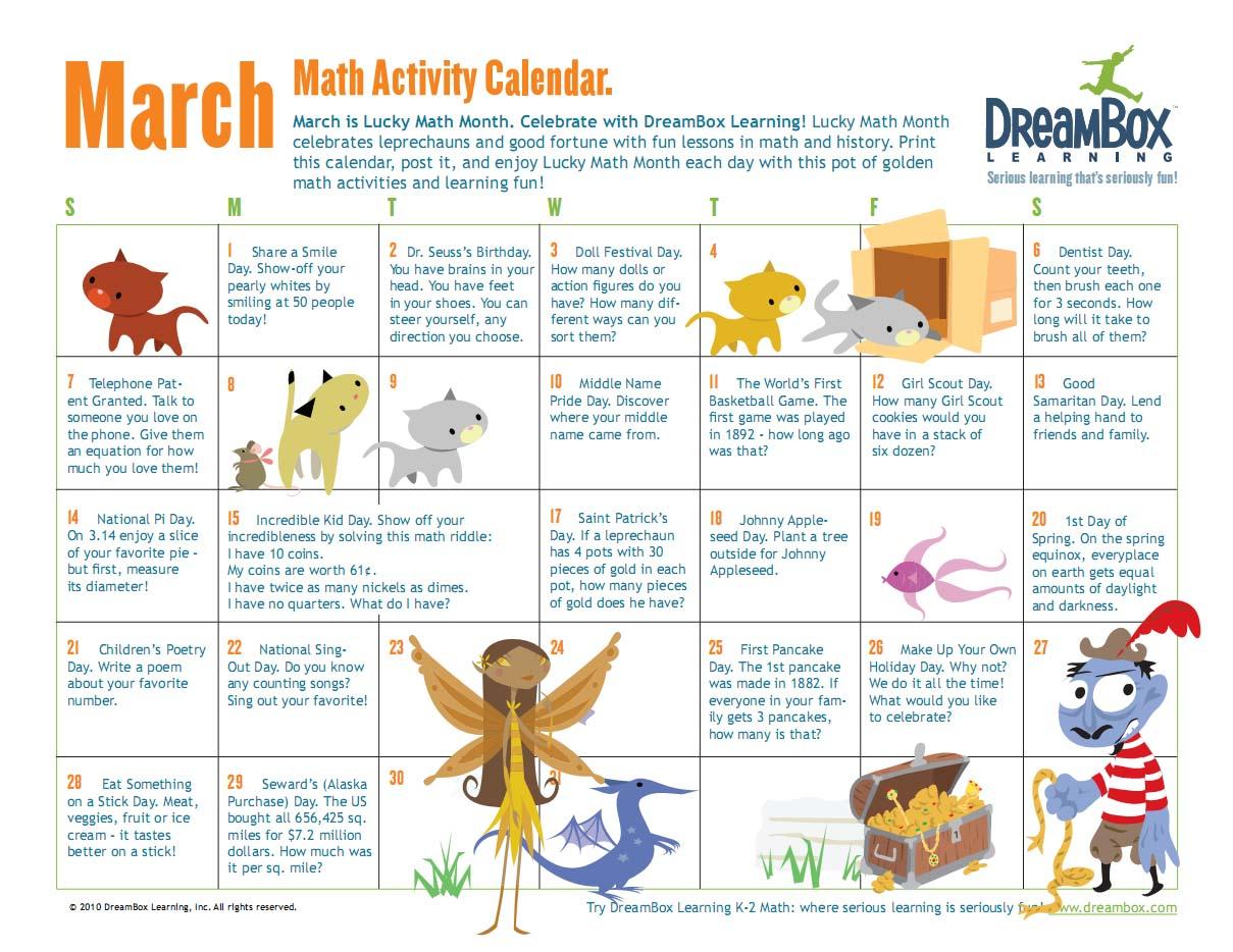 Kids Math Activities Math Games World Math Day