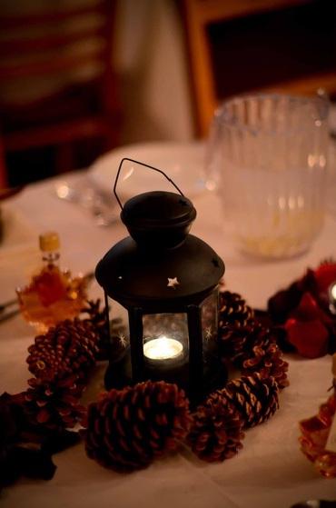 Ikea lantern centerpiece wedding