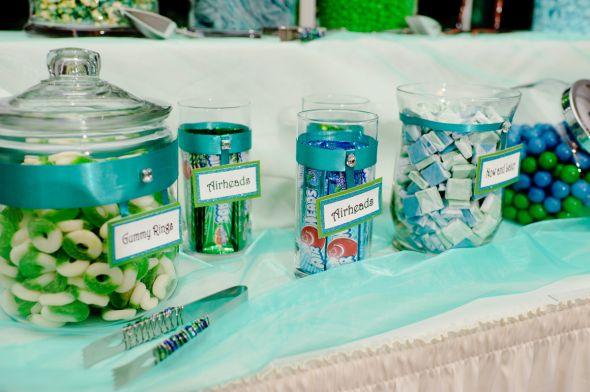 Peacock Candy Buffet Weddingbee Photo Gallery