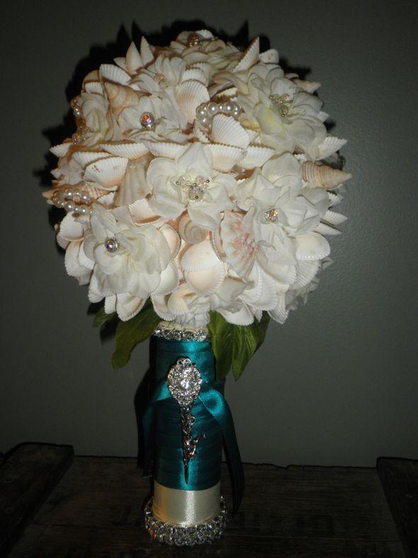 My DIY Seashell Bouquet Weddingbee Photo Gallery