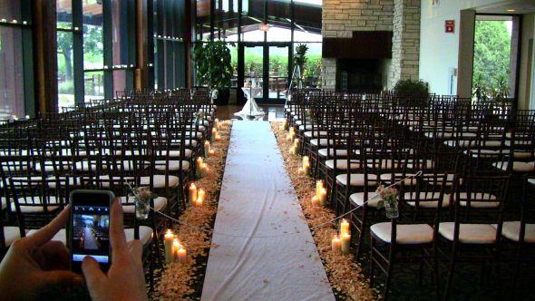 Romantic Ceremony Decor Weddingbee Photo Gallery