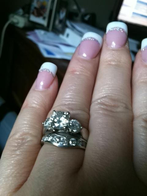 25th Wedding Anniversary Rings Her