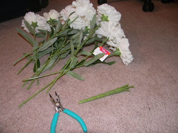 Instructions On How To Make A Bouquet With Silk Flowers