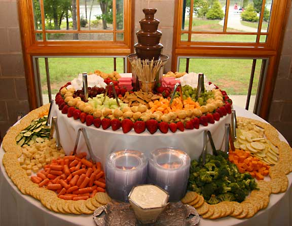 Appetizer display - Weddingbee