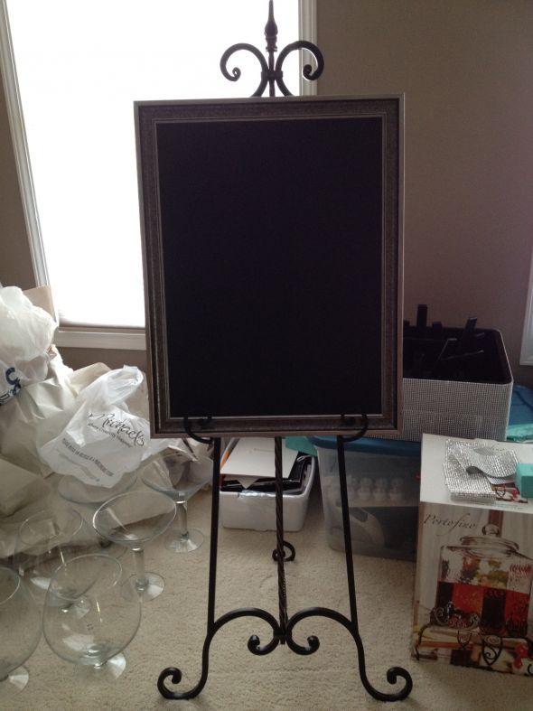 DIY Large Chalkboard Weddingbee Photo Gallery