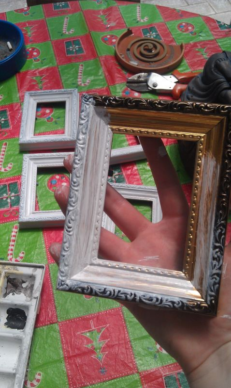 DIY Chalkboard Paint Table Numbers Pic Heavy