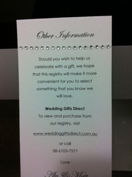 Wedding Invitation Wording Asking For Money Instead Of Gifts