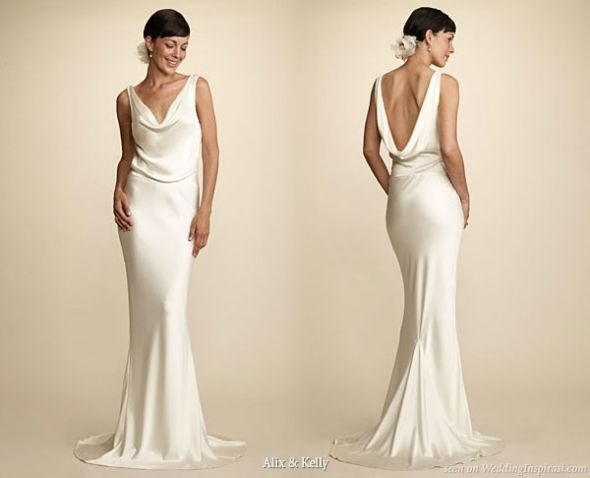 Silk Charmeuse Dresses??-help