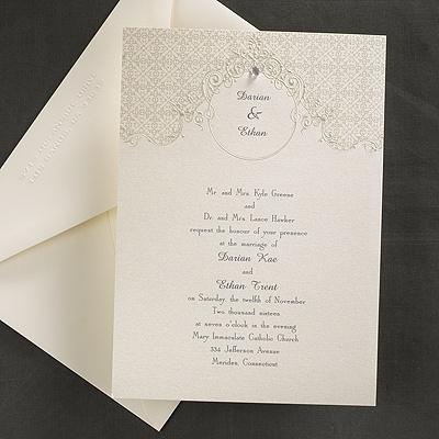 Wedding Invitation Formal Attire Wording Popular Wedding