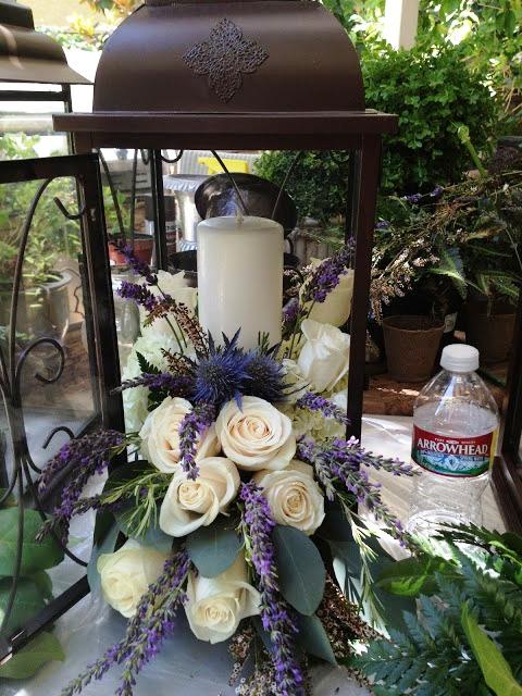 Flower Filled Lanterns For The Aisle Weddingbee Photo