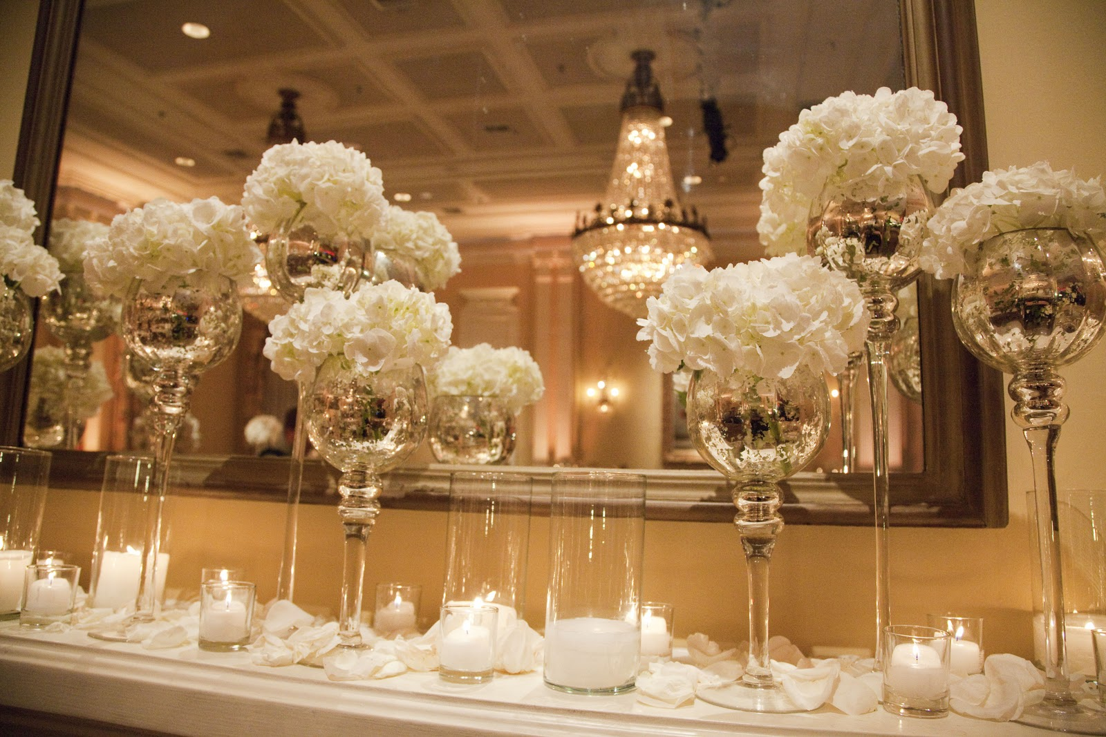 your rectangle table centerpieces