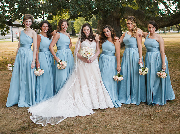 Bridesmaids Dress Shopping cm0619