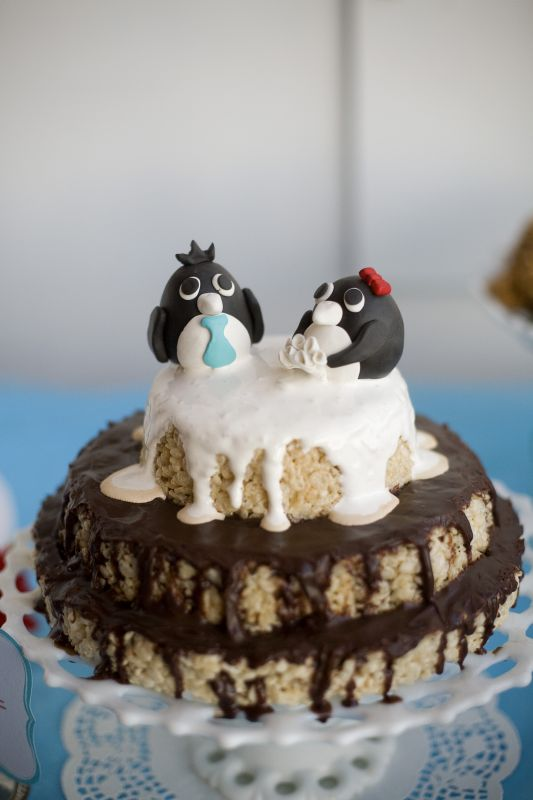 Penguin Cake Topper Weddingbee Photo Gallery