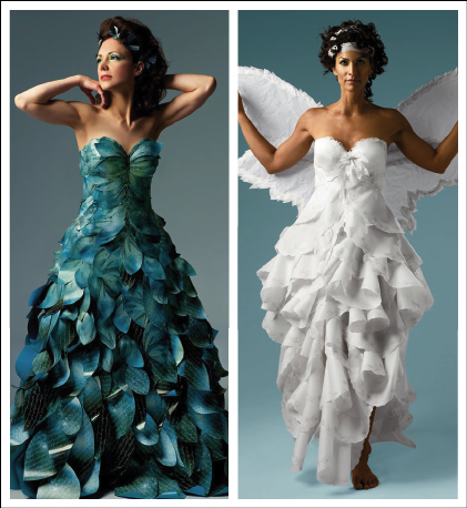 Papier Couture :  wedding montreal wedding dress Papercoutureqf9