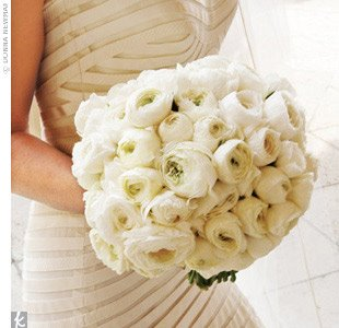 Bridal Bouquets :  wedding flowers Ranuncu