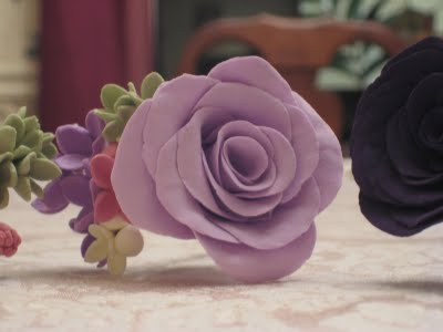 Clay Flowers: Filler Flower Tutorial :  wedding crafts diy flowers tutorial Img 834