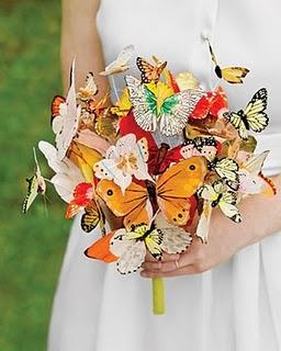 Butterfly Bouquet Inspiration :  wedding diy flowers houston butterf