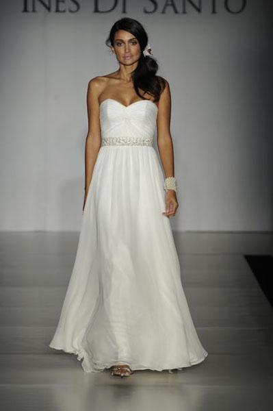 Bridal Market 2010 - Ines Di Santo :  wedding bridal market 2010  Val0154 _VAL0154