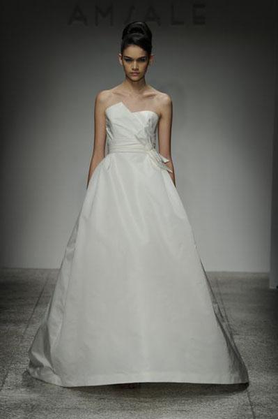 Bridal Market 2010 - Amsale :  wedding bridal market 2010 Val7613  _VAL7613