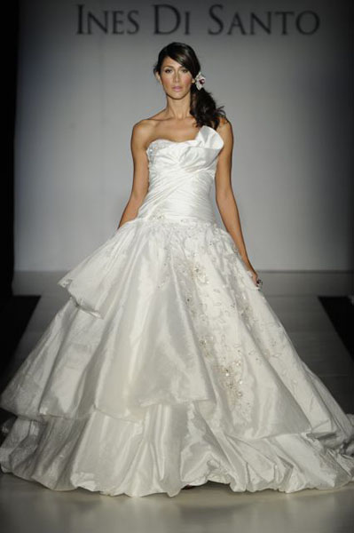 Bridal Market 2010 - Ines Di Santo :  wedding bridal market 2010  Val9985 _VAL9985