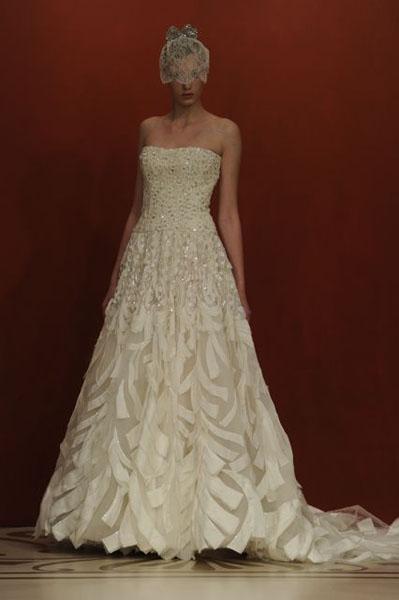 Bridal Market 2010 - Reem Acra :  wedding bridal market 2010  Val0645 _VAL0645