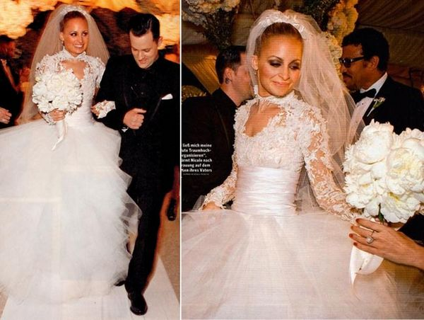OMG, Nicole's Wedding Dress! :  wedding chicago wedding dress Richie51 richie5