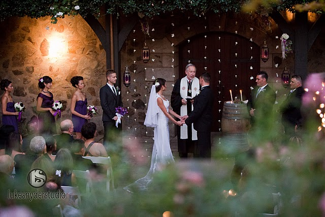 A Napa Fairytale: Ceremony, Part 1 of 2 :  wedding napa pro pics recap. pictures Brianne Brianne