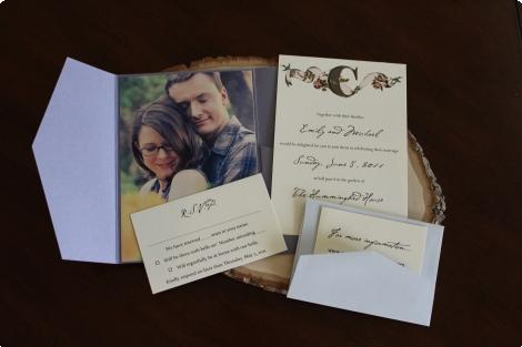Waffle Invitations… Simple and Sweet :  wedding austin invitations stationery 54 5