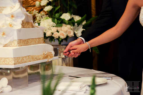 With This Wing: Cake Cutting :  wedding pictures pro pics recap san diego Recepti031 Recepti031