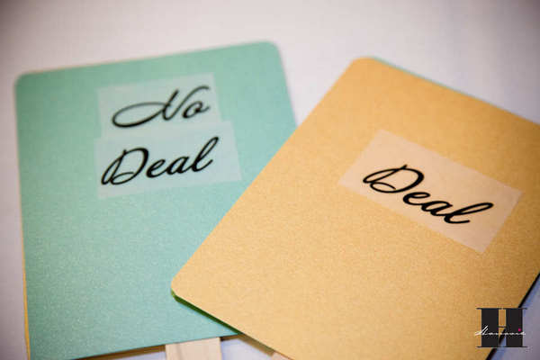 With this Wing: Deal or No Deal Wedding Edition  :  wedding pictures pro pics recap san diego Hanssie Hanssie