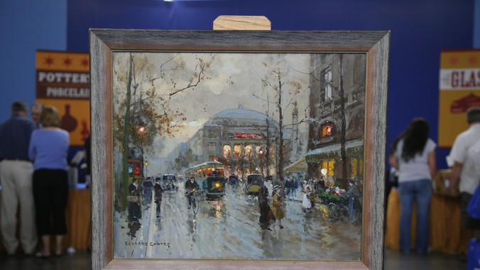 1959 Douard Corts Oil Painting Antiques Roadshow PBS