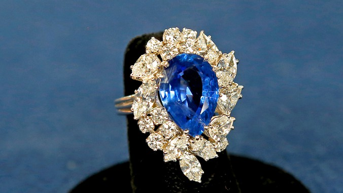 Cartier Sapphire Amp Diamond Ring Antiques Roadshow PBS