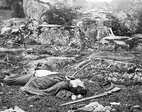 Images from the Civil War Battlefields | American ...