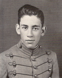 J.D. Salinger as cadet at Valley Forge Military Academy