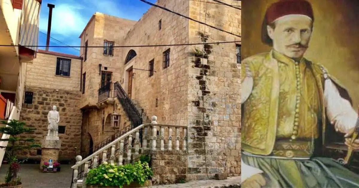Dieses libanesische Haus trägt die Geschichte eines großen Helden des Libanon