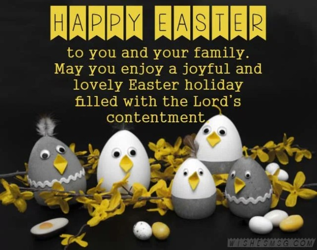 Happy Easter Wishes With Images
