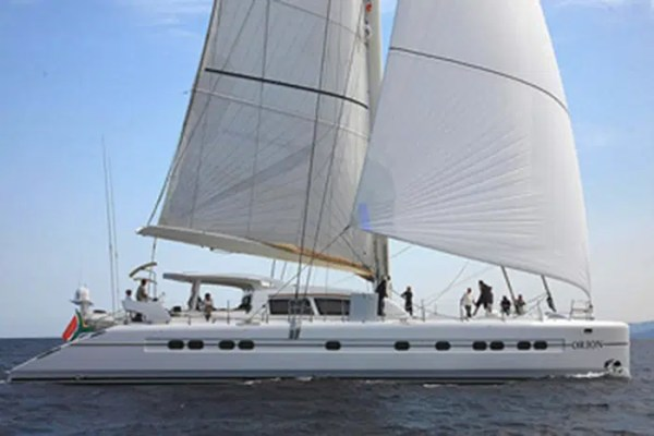 ORION Yacht Charter 90 Catana Catamaran