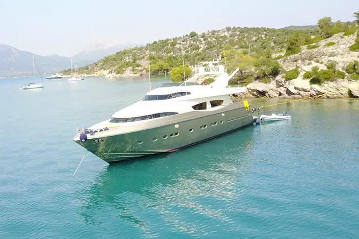 Yacht ZAMBEZI 97 Posillipo Motor Yacht